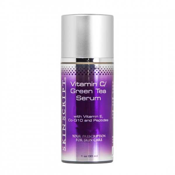 vitamin c green tea serum skin script