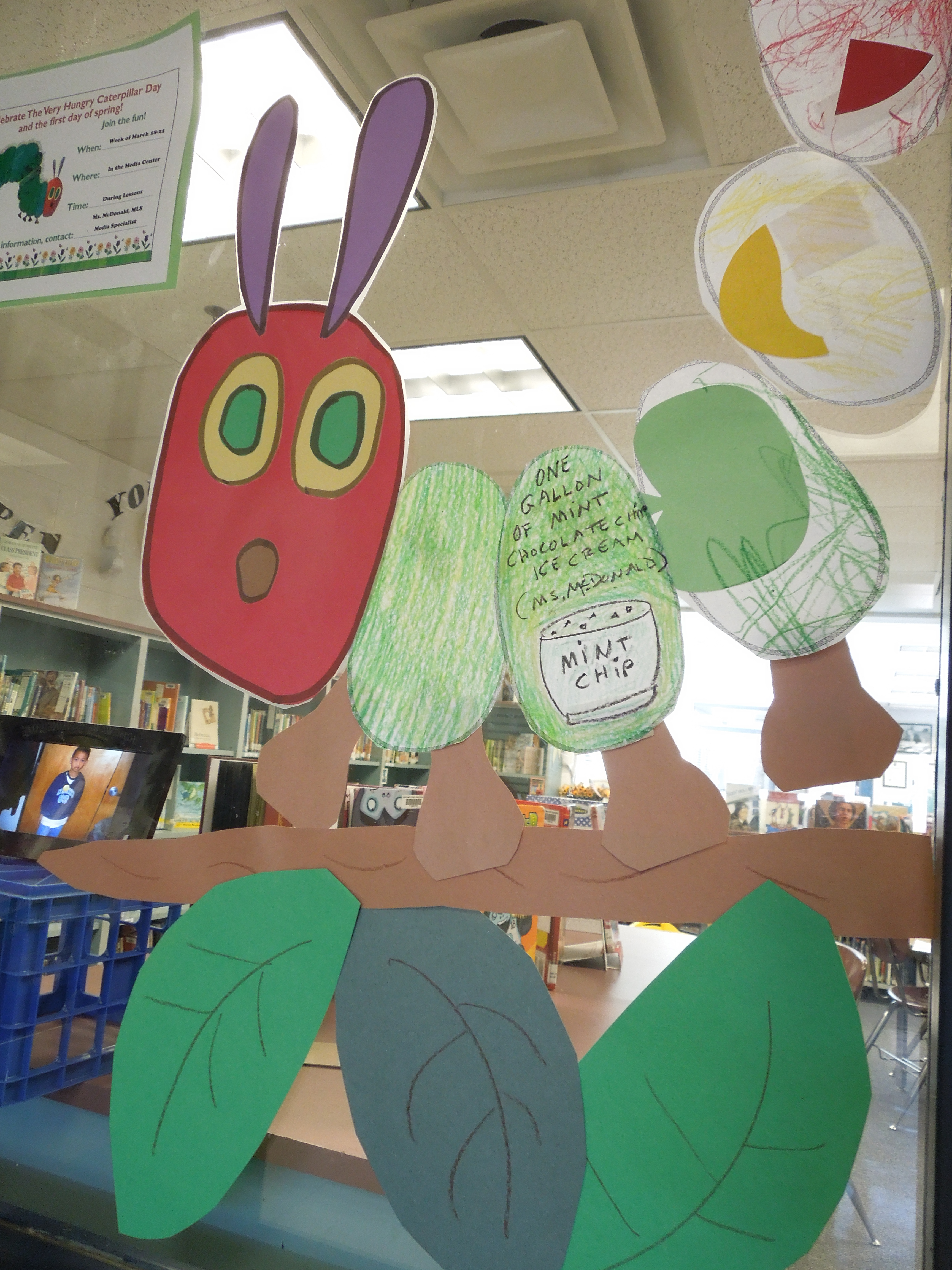 The Very Hungry Caterpillar Day March 20th