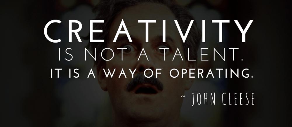 John Cleese on Creativity