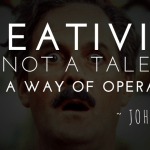 John Cleese - Creativity is not a talent - It is a way of operating - http://melissamonte.com