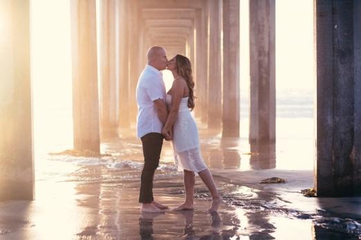 ENGAGEMENT photos: Green Acre + Scripps Beach, San Diego, California