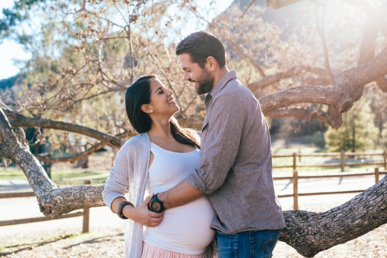 Maternity Shoot Paramount Ranch Los Angeles