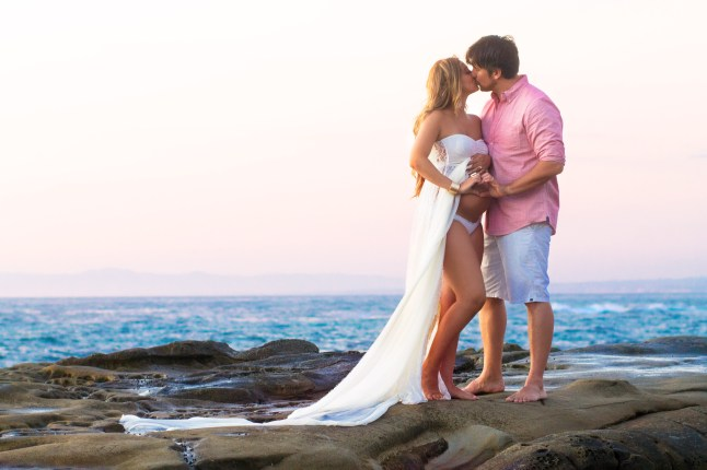 MATERNITY photos: Cuvier Park, La Jolla