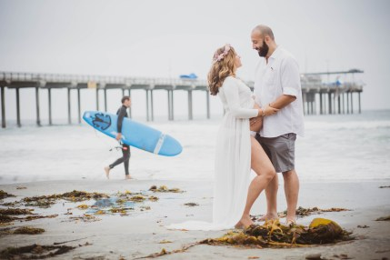 MATERNITY photos: Scripps Beach, La Jolla