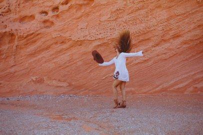 LIFESTYLE photos: Marlboro Woman, Valley of Fire, Nevada