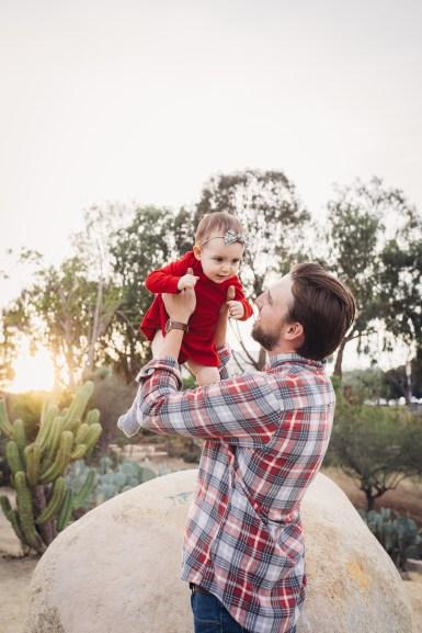 FAMILY photos: Cactus Garden, Balboa Park