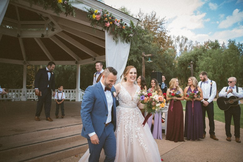 WEDDING photos: Old Poway Park