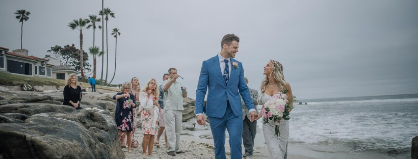 WEDDING photos: La Jolla Beach Elopement