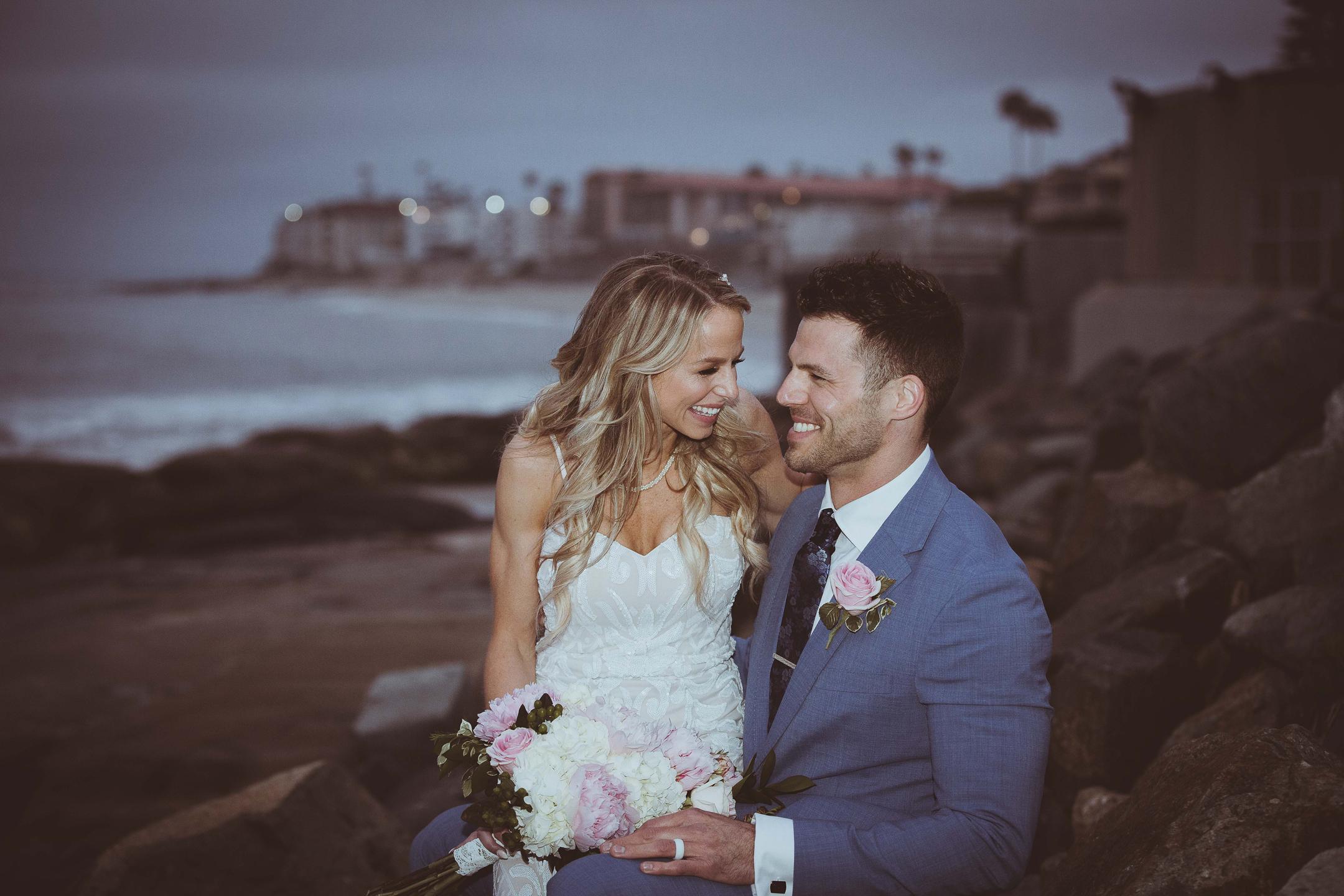 WEDDING photos: La Jolla Beach Elopement