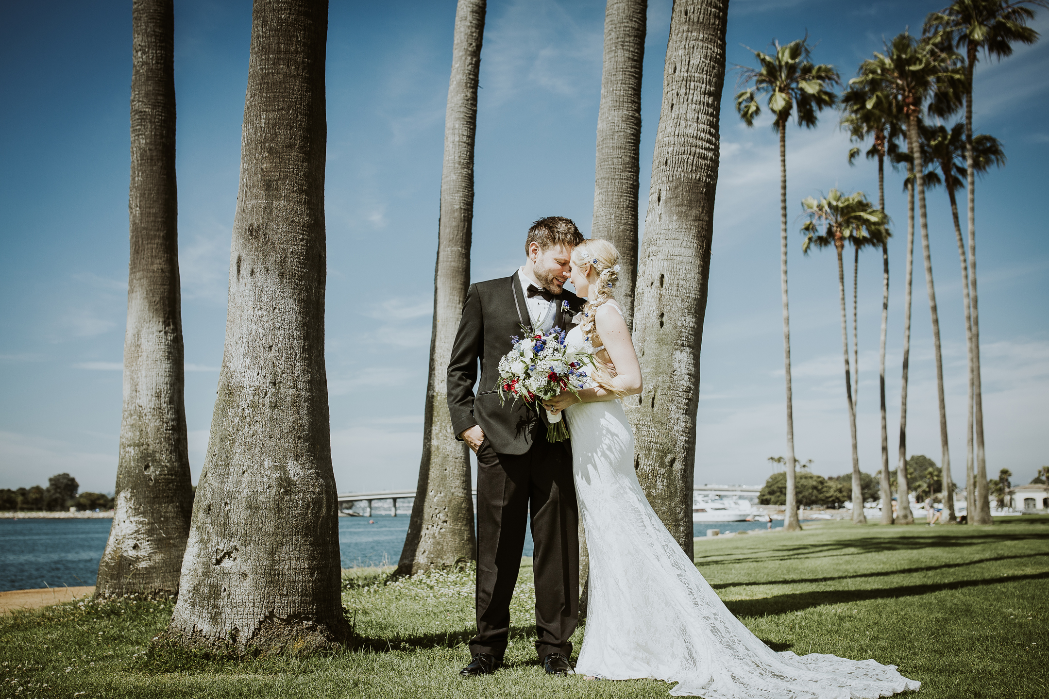 WEDDING photos: Sunset Point, Mission Bay
