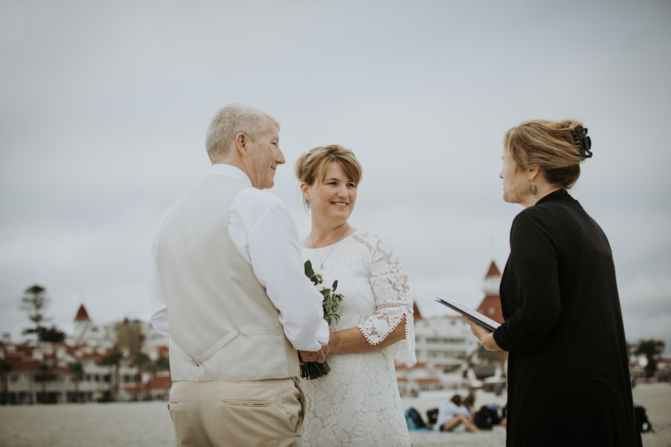 WEDDING photos: Coronado Beach Elopement