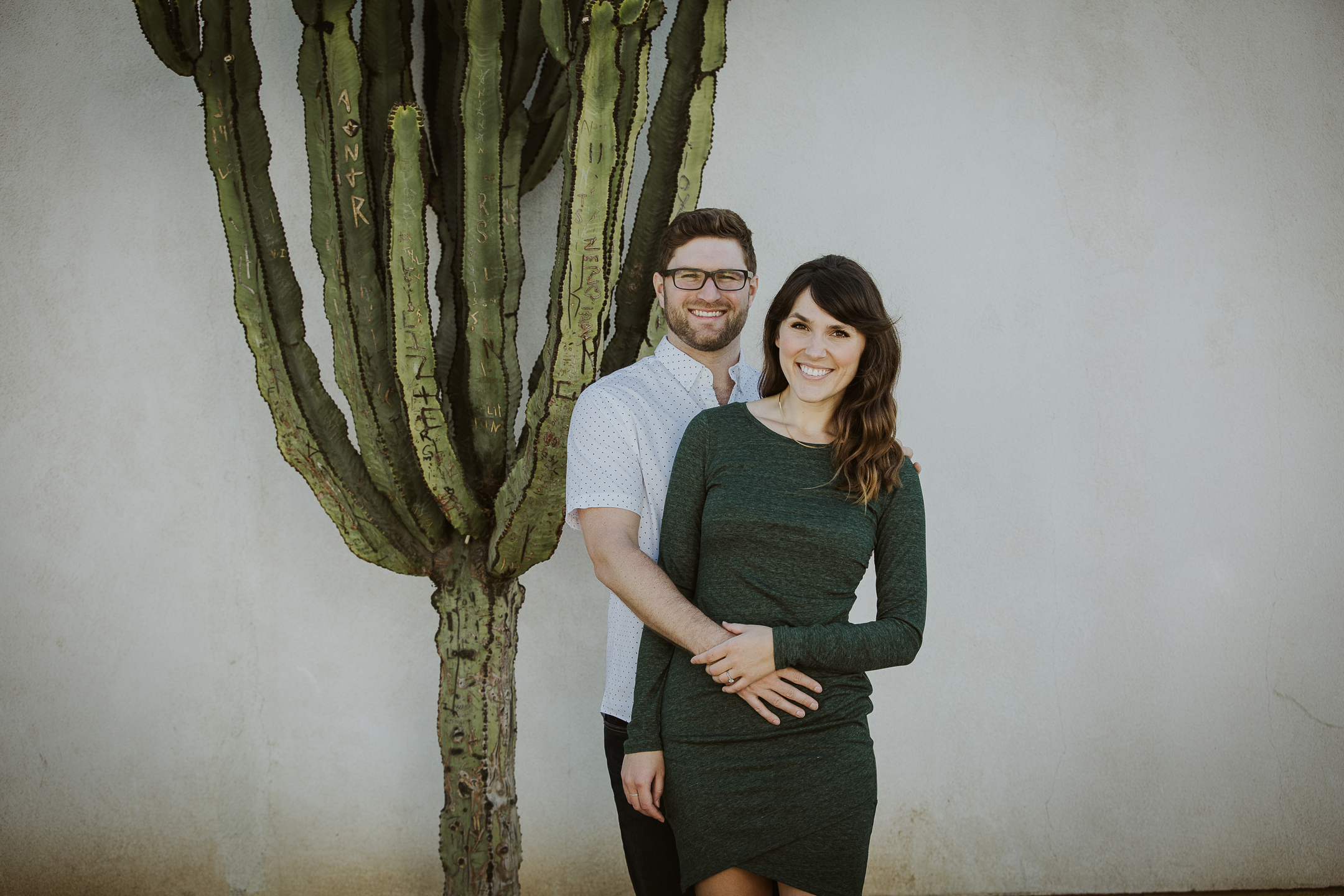 ENGAGEMENT photos: Balboa Park, Old Town, La Jolla Cove