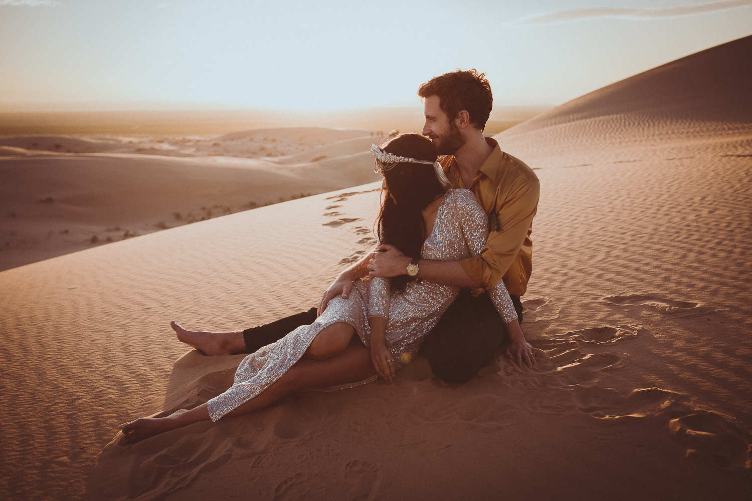 Desert elopement photographer san diego
