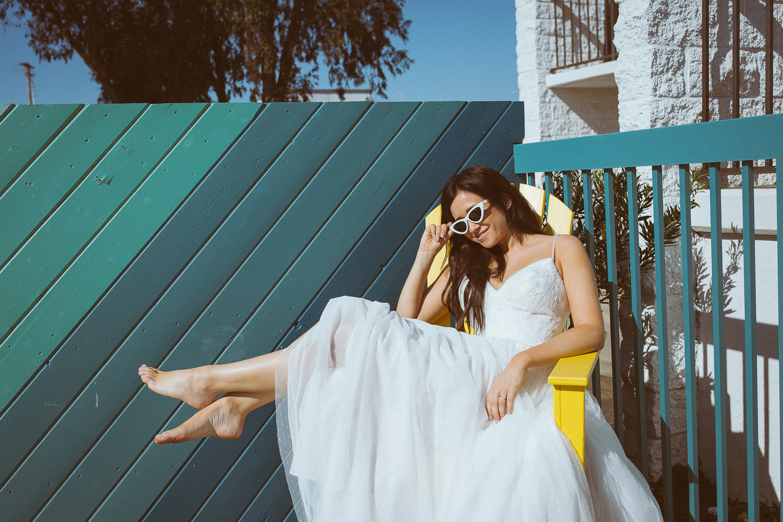 Retro Bridal Portraits