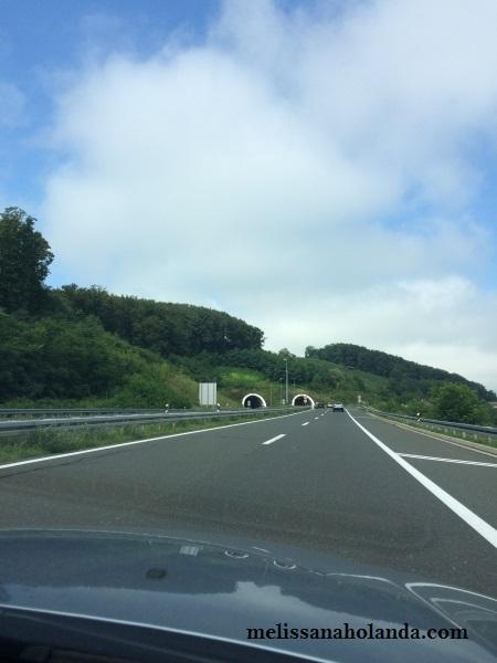 Túnel na Áustria