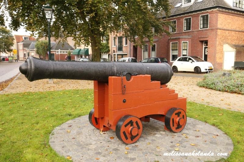 Canhão em Naarden