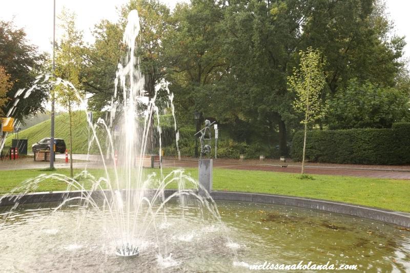 Fonte de água em Naarden