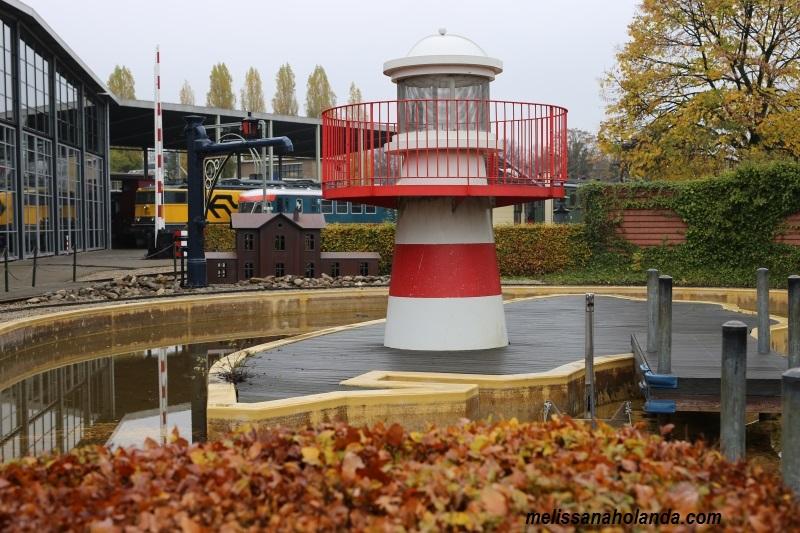Museu ferroviario em Utrecht