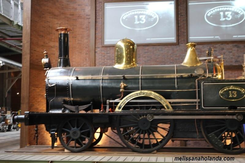Trem Museu em Utrecht