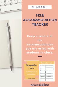 Accommodation Tracker