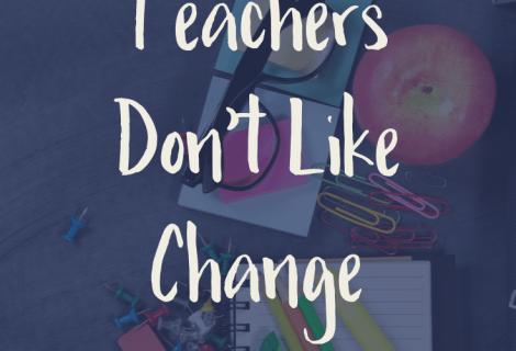 A lot of teachers don