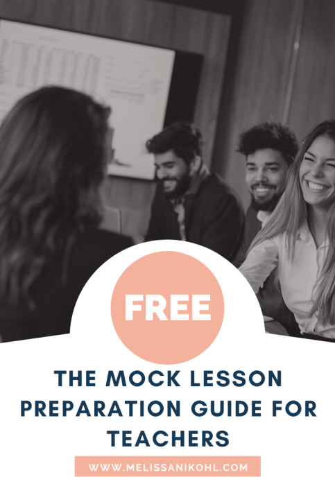 Get tips and a mock lesson outline to help you prepare for your interview.