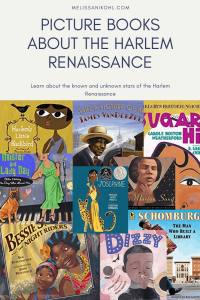 Picture Books About the Harlem Renaissance. Learn about all the known and unknown stars in this era. These books also make a great selection of children's books for black history month. #blackhistorymonth #diversebooks