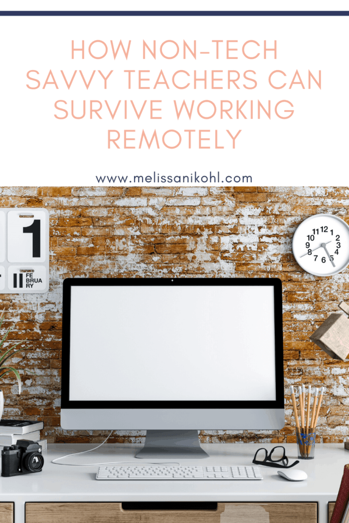 COVID-19 has forced teachers to work from home. Teachers are working remotely and some are having a hard time. Not all teachers are good at integrating technology and right now, that is a major problem. Remote learning will be how students and teachers finish the school year. Get tips on how teachers can successfully work from home. #remotelearning #digitallearning #elementaryremotelearning