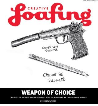 Creative Loafing Charlotte   January 15, 2015