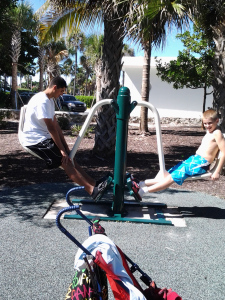 BEACH FRONT WORK OUTS