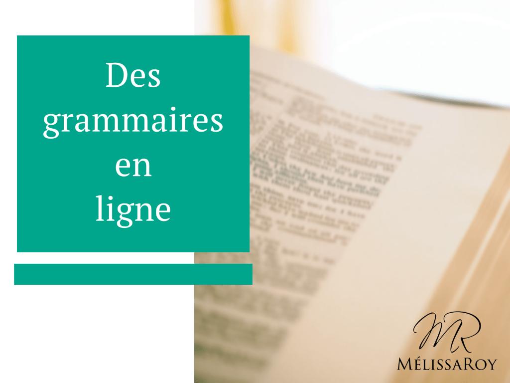 grammaires