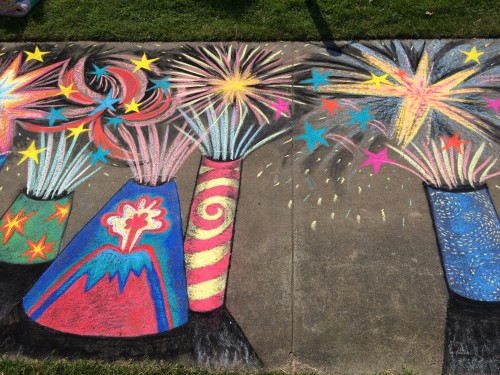 Sasi's Chalk Art 2015
