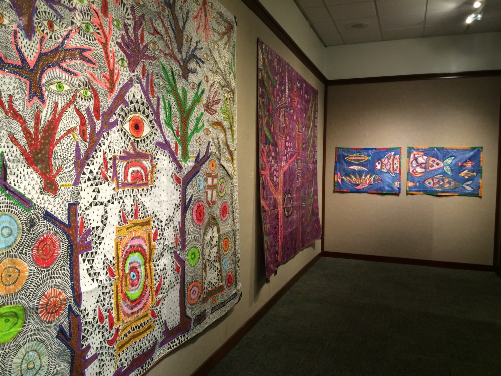 """Tarpestries"" -- Sasi's Solo Exhibition at Boise State University"