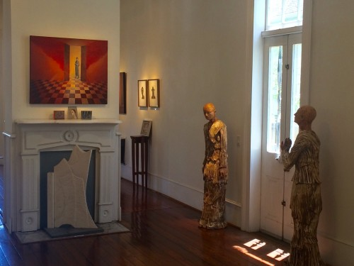 Mike Chambers' House Ghosts at Carol Robinson Gallery