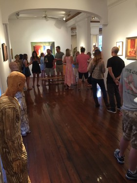 House Ghosts Opening at Carol Robinson Gallery
