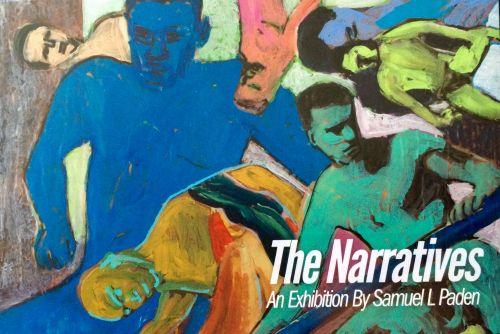 Sam Paden's exhibition postcard