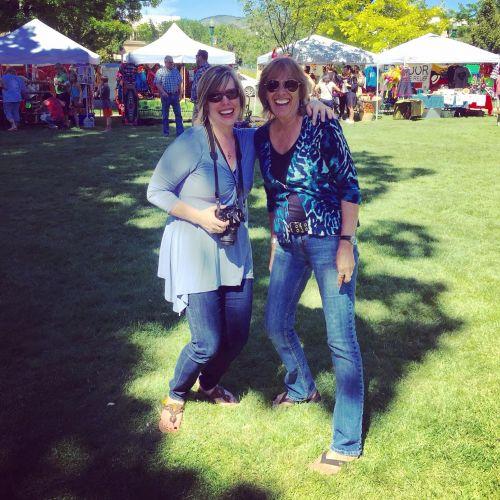 "Donna Kovaleski and Melissa ""Sasi"" Chambers @ World Village Festival 2016"