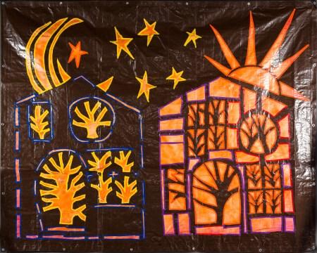 "©2014 Melissa ""Sasi"" Chambers - Tree Houses of the Rising Sun"