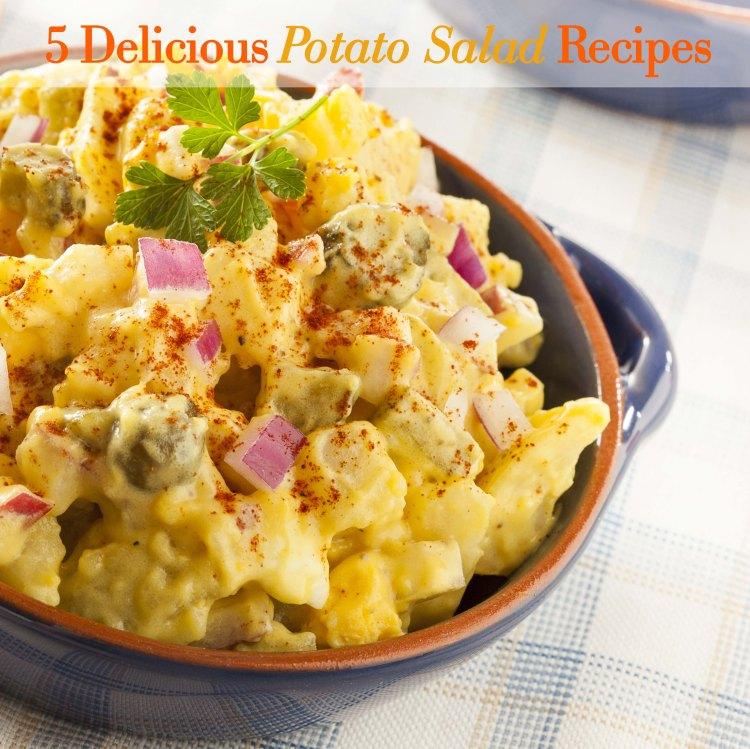 Homemade Yellow Potato Salad