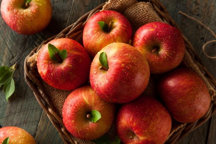Raw Red Fuji Apples