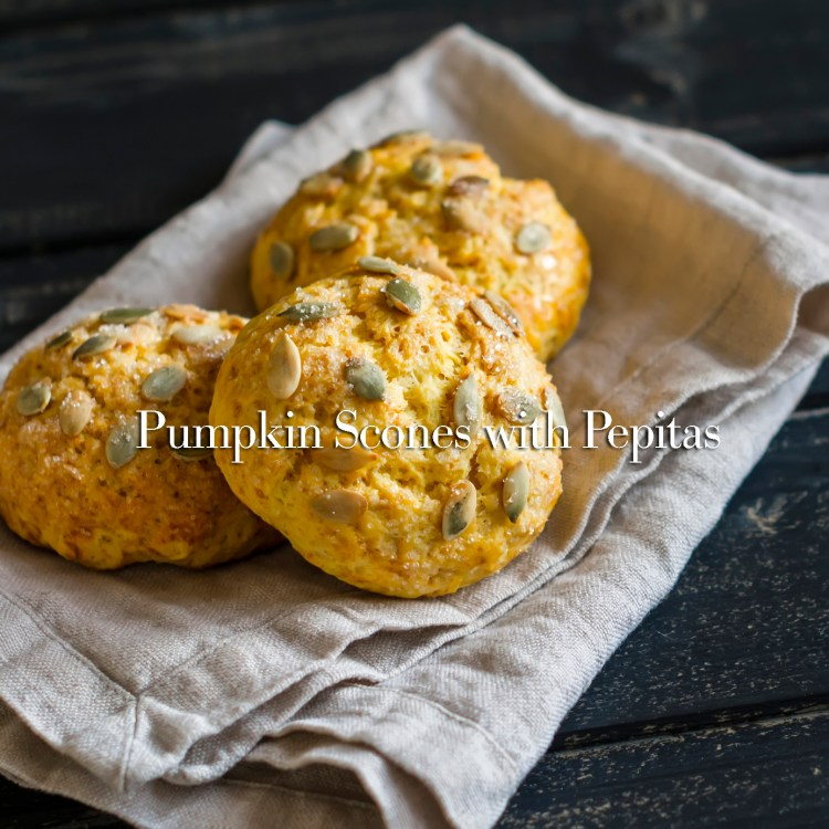 homemade pumpkin buns on the grey napkin