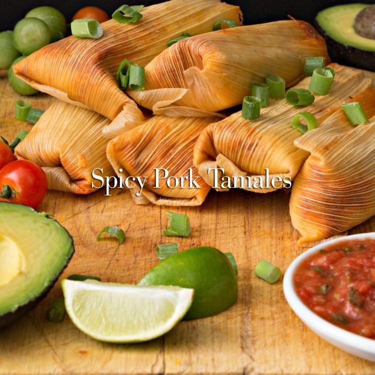 Tamales And Salsa