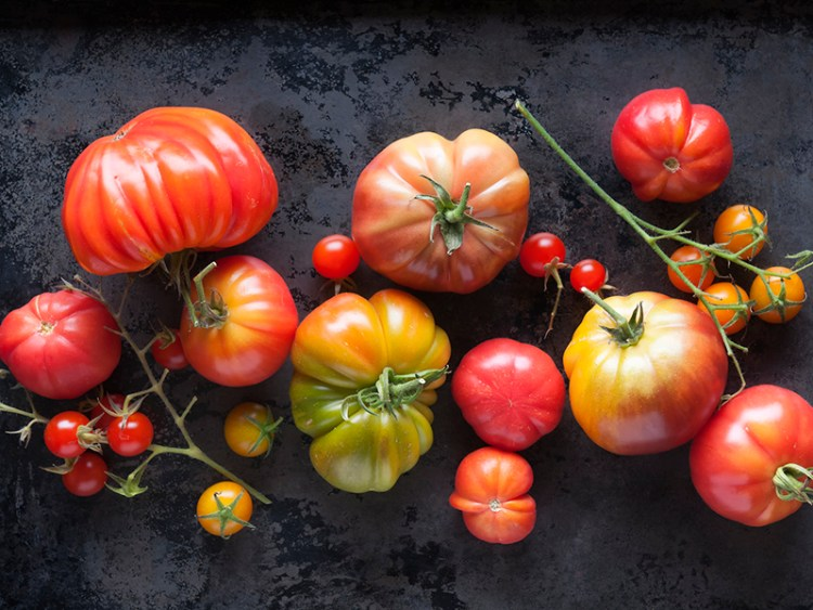 Organically Grown Heirloom Tomatoes