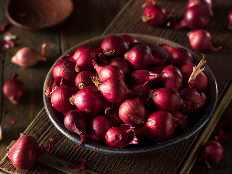 Organic Red Pearl Onions