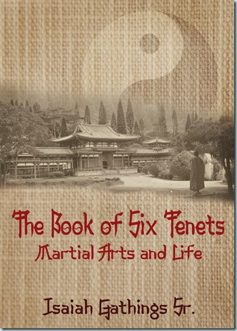 Martial arts book cover