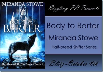 Body to Barter - Miranda Stowe - Banner