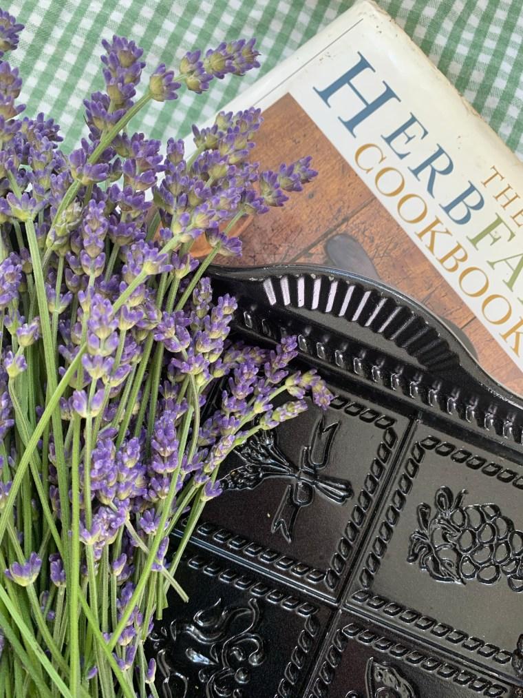 Lavender Shortbread