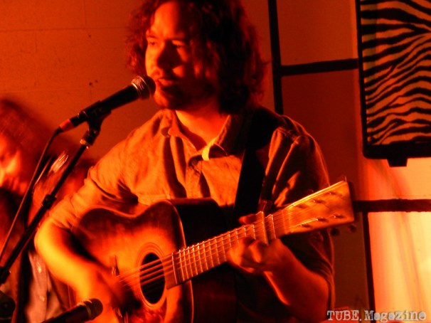 Here we have Andrew Marlin of Mandolin Orange. He may be playing a guitar here, but he's killer on mandolin.
