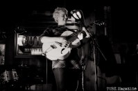 Lauren Cole Norton at the Fox and Goose. Sacramento CA. Jan. 2014 Photo Melissa Uroff