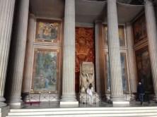 Pantheon murals